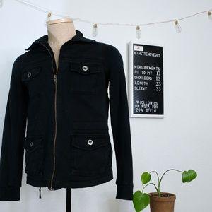 Marrakech Zip Moto Military Jacket | Women's S